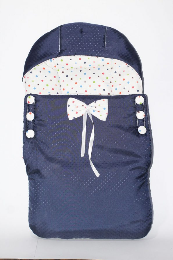baby-bed-blue-white-ribbon-with-bow-6-button
