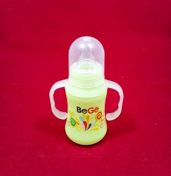 baby-bottle-feeding-bege-150ml-green-with-easy-grip-handle-5oz