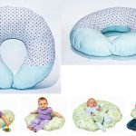 little-moon-baby-nursing-cushion-blue-multicolor-doted