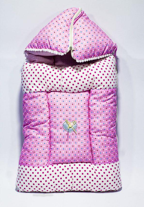 sun-baby-pink-aqua-sleeping-bed-thai-fabric